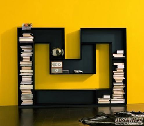 创意书架设计书房远离呆板